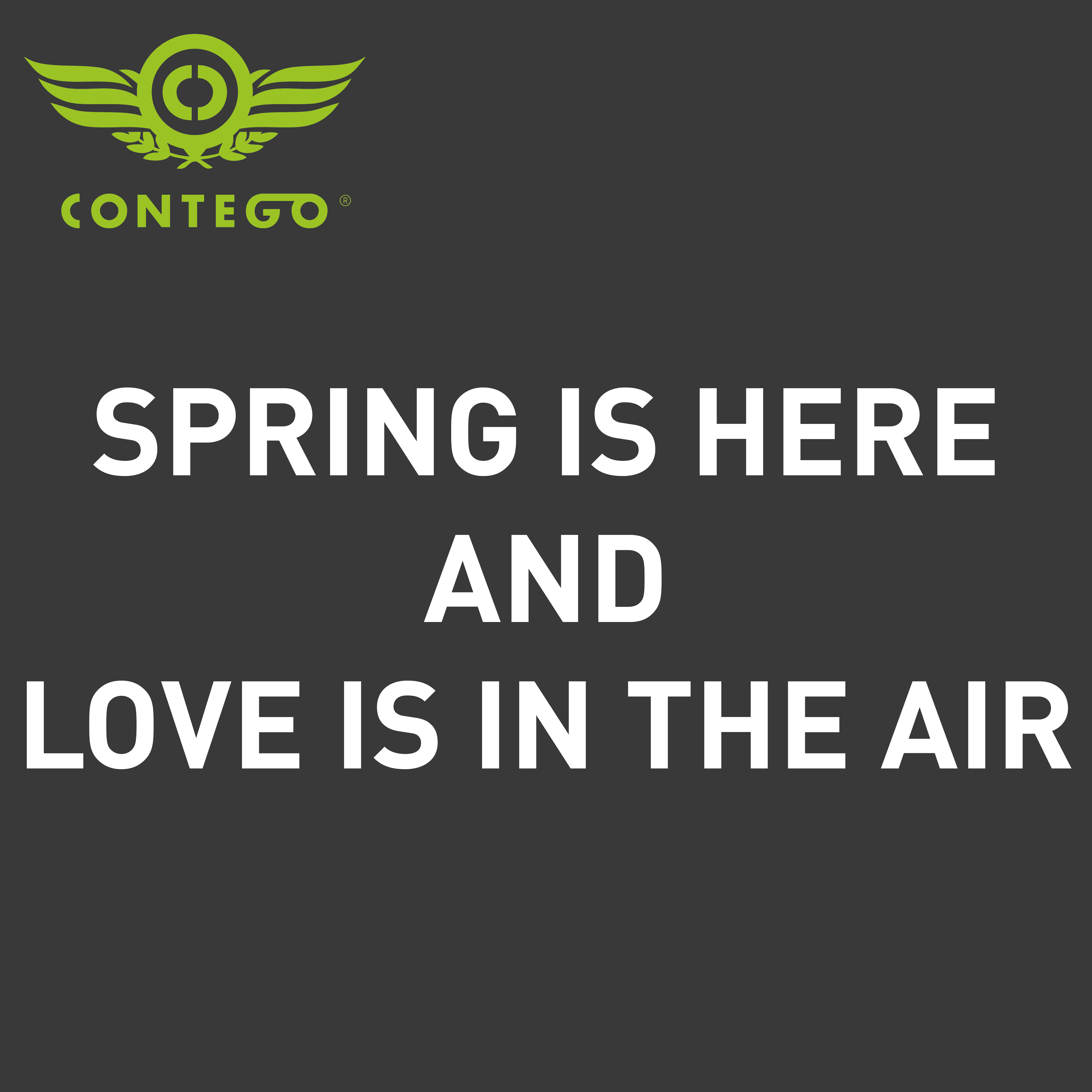 Spring is here and love is in the air