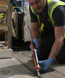 Expansion joint pest proofing